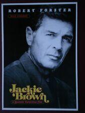 POSTCARD L3 L3-1 FILM POSTER 'JACKIE BROWN' - ROBERT FORSTER