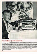 PUBLICITE ADVERTISING  1963   CADILLAC   éléctroménager rotissoire