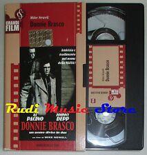 film VHS DONNIE BRASCO A. Pacino   CARTONATA CORRIERE DELLA SERA (F12)  no dvd