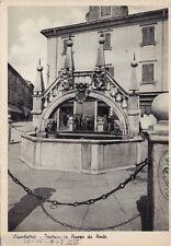 #SLOVENIA-CAPODISTRIA: FONTANA IN PIAZZA DA PONTE- 1937