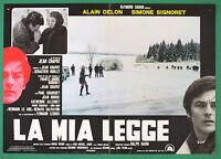 T76 Fotobusta Die Mein Legge Alain Delon Simone Signoret Chapot 1