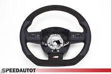 S-LINE spianate VOLANTE MULTIF volante in pelle nero alcantara Audi a3 8p0124a