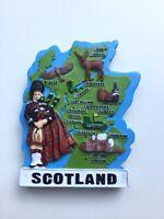 Scotland Fridge Magnet, Piper, Thistle Souvenir Great Gift From Scotland