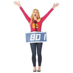 The Price is Right Blue Contestant Row Adult Costume