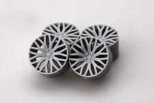 Hobby Design 1/24 21inch RS-FX Wheels (4 Resin Wheels + Metal Air Valves)