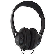 Soundlab A084HA Black Digital Quality Stereo Headphones