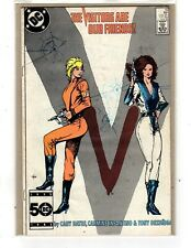 V # 10, the Visitors are our Friends, Nov 1985, DC, fine, boarded & bagged
