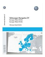 Volkswagen Navigationssoftwares in Europa