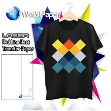 "LASER HEAT TRANSFER PAPER / DARK COLORS 25 SHEETS RL 8.5"" x 11"" :)"