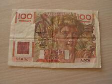 billet 100  francs 1953