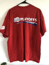 New listing Clippers PLAYOFFS Mens ONE TEAM. ONE GOAL. IT'S TIME Basketball RARE T-shirt XL