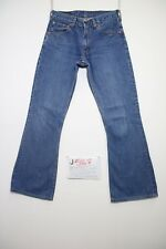 Levis 516 bootcut (Cod.J587) Tg.42 W28 L34 jeans usato accorciato donna