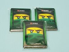 Lego® Ninjago™ Serie 3  90  Sleeves  3 x 30 Schutzhüllen Grün