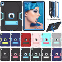 "Shockproof Hybrid Heavy Duty Rubber Hard Case Cover For Apple iPad Pro 11"" 2018"