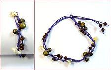 Modeschmuck-Armbänder aus Stoff ohne Stein für Damen