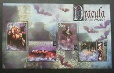 Ireland Centenary of Publication of Bram Stoker's Dracula 1997 Bat (ms) MNH