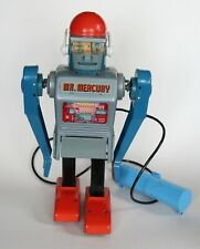 Mr Mercury toy robot vintage Marx 1960s - Working - with box and instructions