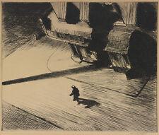 Night Shadows  by Edward Hopper   Paper Print Repro