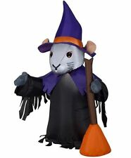 HALLOWEEN WITCH RAT MOUSE  HAUNTED HOUSE CEMETARY  INFLATABLE AIRBLOWN 4 FT