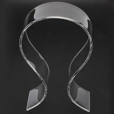1pc Clear Acrylic Headphone Stand Headset Holder Desk Display Hanger Rack Transparent
