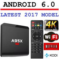 Android 6.0 Smart Tv Box 4K Ultra HD Media Player Wifi Quad Core WIFI MXQ Netfli