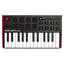 Akai Mpk Mini Mk3 25-Key Midi Keyboard Compact Controller Mkiii + Mpc Beats