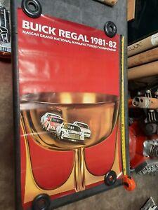 1981 82  NASCAR  BUICK GRAND NATIONAL  DEALERSHIP ORIGINAL  38x 25