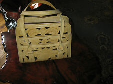 LEATHER PURSE BY GOLDCALF   HAND HAMMERED