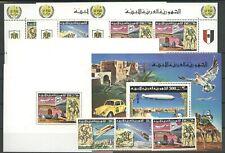 100 Jahre UPU, Space - Libyen - ** MNH 1974