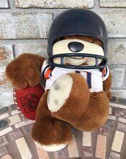 Vtg Chicago Bears Football Helmet Doll NFL Huddles 1983 Tudor Games