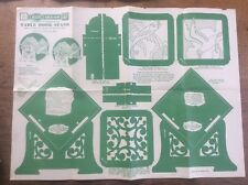 Vintage Hobbies Magazine Design Sheet Table Book Stand