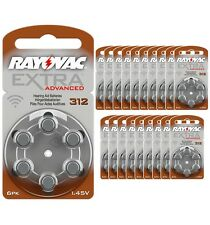 120 pile RAYOVAC Extra Advanced 312 Pr41 marroni