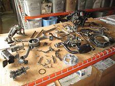 1982 Honda CX500 Turbo Throttle Body Oil Pan Final Drive Shaft Etc Parts Lot #1