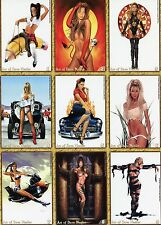 2008 STUDIO E ART OF DAVE NESTLER 45 CARD SET