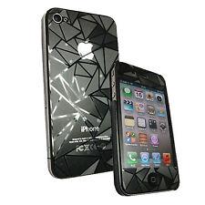 3D Folie Apple iPhone 4 4G 4S Handyfolie Schutzfolie Matt Anti Glare Diamond