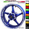 Adesivi per ruote moto Yamaha Factory Racing 17 pollici vari colori