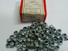 100 x M5 NYLOC HALF NUT, M5 nylon insert locking nut Farnell 152094