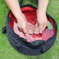 8.5L Portable Ultra-light Folding Water Red Tool Survival Basin Washing Fishing