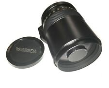 Yashica Reflex Yashinon-DX 500mm F8 Pentax Mt Mirror Lens