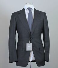 New 2017 Tom Ford Gray Wool Suit Spencer Base D Model Size 36 (46 EU) NWT