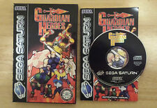 Guardian Heroes (Sega Saturn PAL) Boxed &100% Complete, Tested and Working, VGC