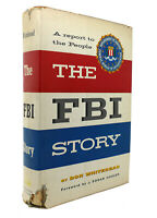 Don Whitehead THE FBI STORY  1st Edition 4th Printing