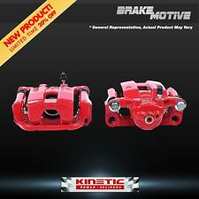 Rear Red Brake Calipers Chrysler Sebring Avenger Stratus Talon Eclipse Galant