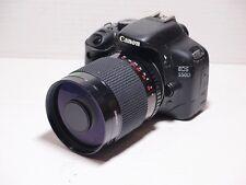 LENTE 500 MM = 750 mm su Canon Digital 7D 70D 60D per la fotografia della fauna selvatica 700D EOS