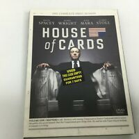House of Cards: The Complete First Season DVD Disc 2013 4-Disc Set