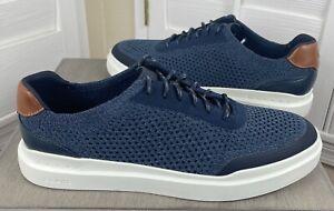Cole Haan GrandPro Rally Stitchlite Sneakers Navy Ink - C33833 - Men's 9 - New