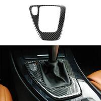 Carbon Fiber Gear Shift Box Panel Trim Cover  For BMW 3 Series E90 E92 2005-2012