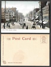 Old Maine Postcard - Bangor - Main Street Scene - Metropolitan News Co. #7447