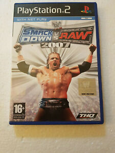 Playstation 2 Games PS2 SMACKDOWN V RAW 2007 Collectable WWE Retro Gaming