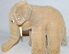Steiff sehr alter Elefant mit Knopf